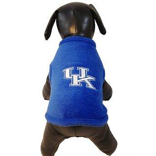 NCAA Kentucky Wildcats Polar Fleece Dog Sweatshirt, X-Large