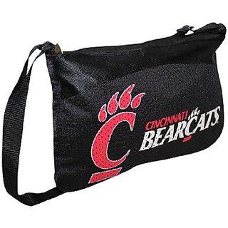 COLLECTORS ITEM: NCAA CINCINNATI BEARCATS Mini Game Day Purse / Shoulder Bag Black