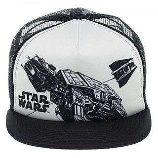 Baseball Cap - Star Wars - Snowspeeder Trucker Hat New Licensed ba1h88stw