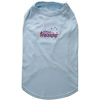 Mirage Pet Products 18-Inch Little Firecracker Screen Print Shirts For Pets, XX-Large, Baby Blue