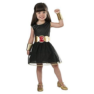 Marvel Universe Black Widow Costume Tutu Dress, Childs Large