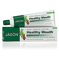 JASON Natural Cosmetics Healthy Mouth Toothpaste, Mint, Tea Tree, Clove And Cinnamon, 4.2 Ounces