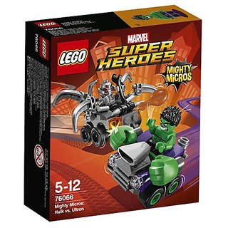 LEGO SUPER HEROES: Mighty Micros Hulk vs Ultron