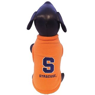NCAA Syracuse Orange Polar Fleece Dog Sweatshirt, X-Large