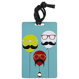 YaYtag Fun New Concept of Luggage Tag - 2 Pack - Groovy