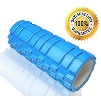 Willpo Extra Firm High Density Eco-Friendly AccuPoint Foam Roller With Carrying Bag For Muscle Massage, Physical Therapy
