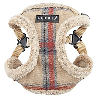 Puppia Kemp Harness-C for Pets, Beige, X-Large