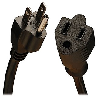 Tripp Lite Power Cord Extension Cable, Heavy Duty, 14AWG, 5-15P to 5-15R, 15A, 25 (P024-025)