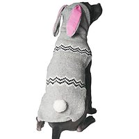 Chilly Dog Bunny Hoodie For Dogs, Large