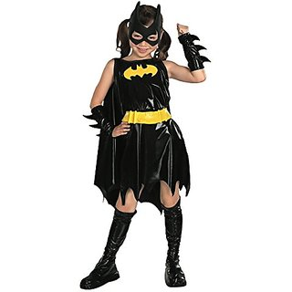 Super DC Heroes Batgirl Childs Costume, Size Medium