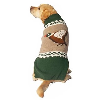 Chilly Dog Mallard Dog Sweater, Large