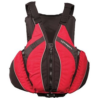 Extrasport Baja Mens Type III Personal Floating Device (X-Small, Red)