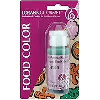 Bulk Buy: Lorann Oils Liquid Food Color 1 Ounce Green LFC-1050 (6-Pack)