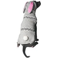 Chilly Dog Bunny Hoodie For Dogs, 3X-Large
