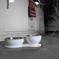 DFBeautifool PET Suppertime Double Bowl Set