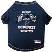 Pets First NFL Dallas Cowboys Pet Tee Shirt, X-Large