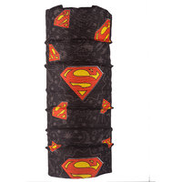 Autofy - Unisex -Superman - Lycra Headwrap/Bandana (Black-Red)