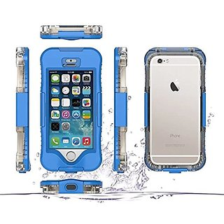 IPhone 5 / 5S / SE / 5SE Waterproof Case,H-ber IP68 Full Sealed Protective Shockproof SnowProof DirtProof Carring Phone