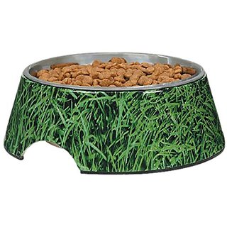 Zack & Zoey Elements Melamine Bowl, 12-Ounce, Green