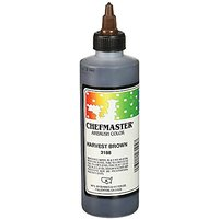 Chefmaster Airbrush Spray Food Color, 9-Ounce, Harvest Brown