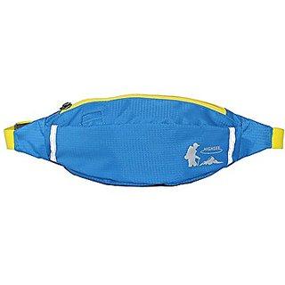 Cevinee™ Dampproof Close Fitted Waist Bag, Running Belt Pack, Traveling Cellphone Bag, Hip Bag - Sky Blue