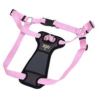 Coastal Pet Products Coastal Pet Walk Right! Front-Connect Padded Harness, Large, Pink