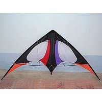 Stunt Sports Delta Kite 62 Inches Wide, For Kids And Adults Outdoor Sports Fun Toy