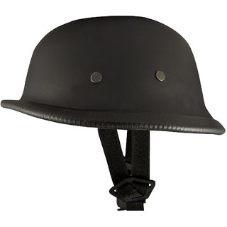 World War 2 Style (Matte Black) Open Face helmet