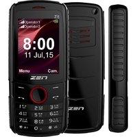 Zen Z8 DJ Dual Sim Feature Phone (Black-Red)