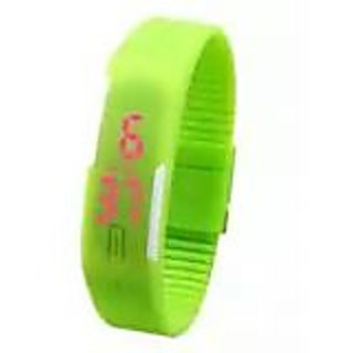 Led Green Watches - LED Watches For Kid Men Women By Eglob