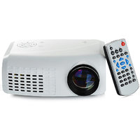 E07 Mini LED Projector Full HD LCD 100 Lumens Protable Home Theater Support HDMI SD USB RCA VGA