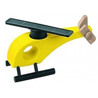 AviatorShopper Solar Helicopter Yellow