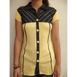 Vestire Girls Top (Yellow)