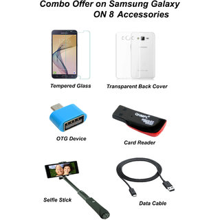 Samsung Galaxy ON8 Combo Offer on Accessories