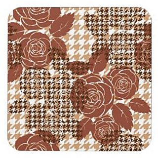 MC Dream Gifts Flower Coaster Set of 4