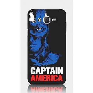 Crazyartshop Captain America Designer Back Case Cover For Samsung Galaxy J5