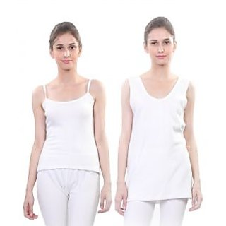 Vimal Winter Premium Thermal White Upper For Women(Pack Of 2)