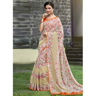 Swaron Multi Linen Saree