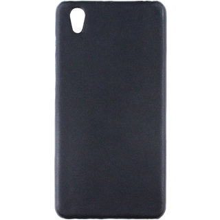 100 Microns Protective Leather Mobile Cover for VIVO Y51L  in Black colour