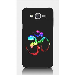 Crazyartshop Om Colourful Designer Back Case Cover For Samsung Galaxy J5