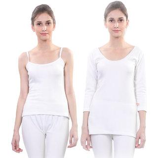 Vimal Winter Premium Thermal White Upper For Women(Pack Of 2)
