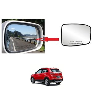 Carsaaz Right + Left Side Sub-Mirror Plate for Hyundai Creta