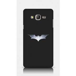 Crazyartshop Batman Logo Designer Back Case Cover For Samsung Galaxy On7
