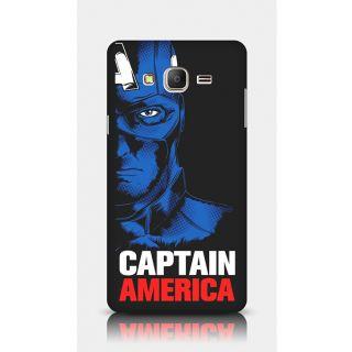 Crazyartshop Captain America Designer Back Case Cover For Samsung Galaxy On7
