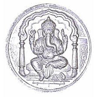 15.300 gm silver coin
