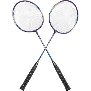 Blue Dot Blaster 5 Strung Badminton Racquet (Multicolor, Weight - 300 G)