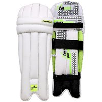Tenstar Pro-1000 Youth Batting Pads (White, Green, Ambidextrous)