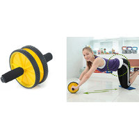Protoner Exercise Wheel with Knee Cushion