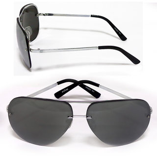 Archies Unisex Black Men's Sunglasses