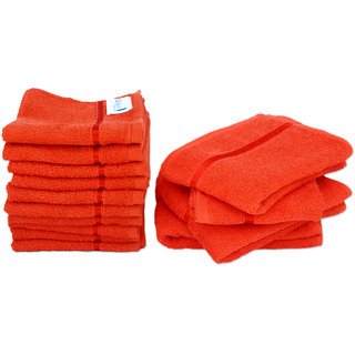 Story@Home 10 Pcs Luxury Hotel Face & Spa 4 Pcs Hand Towel